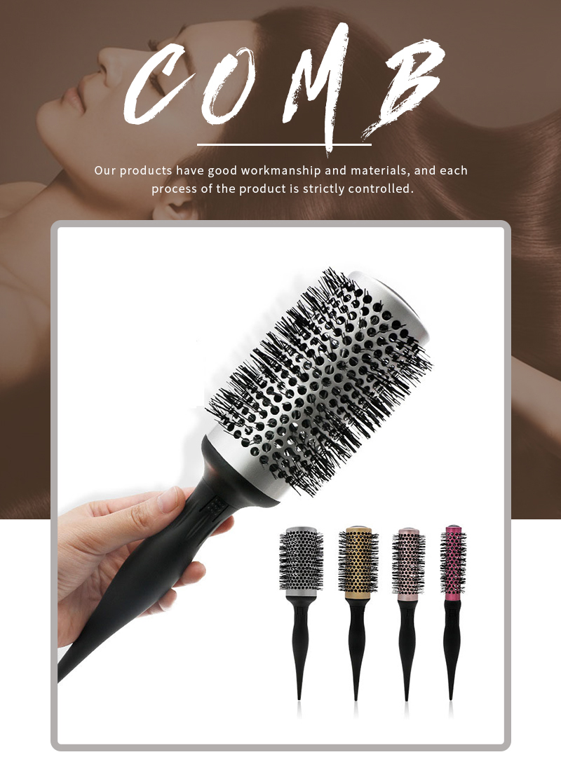 4in1 Round Hair Brush Set